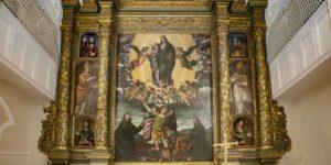 L'Ancona d'Altare del Santuario SS Crocifisso di Rutigliano (Bari)
