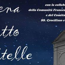 Cena sotto le stelle, sul piazzale del SS. Crocifisso di Rutigliano (10 agosto)